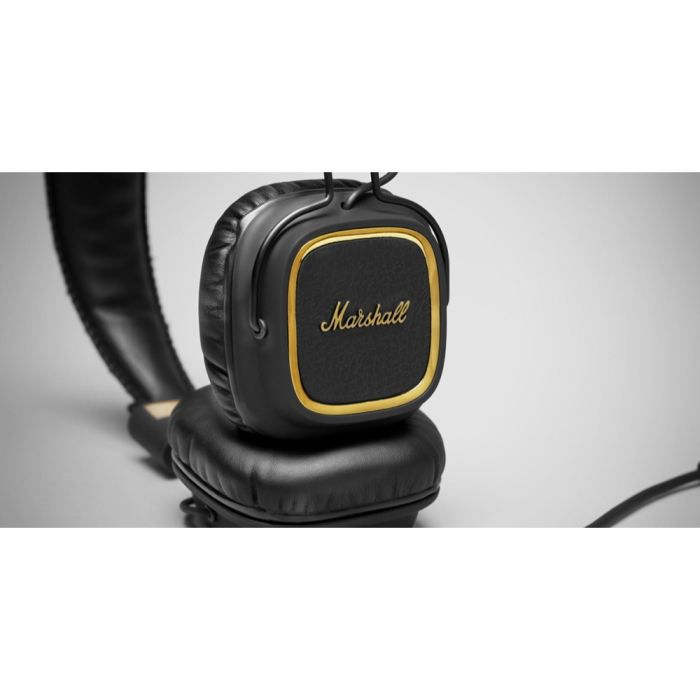 casque marshall 50 fx major headphones heavy sound of. Black Bedroom Furniture Sets. Home Design Ideas