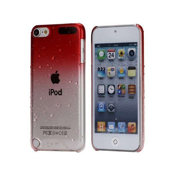 coque ipod touch 5 housse bi teinte rouge et tra coque. Black Bedroom Furniture Sets. Home Design Ideas