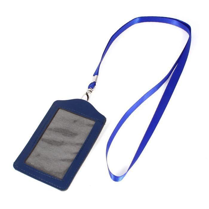 10x Lanyard ID Badge Badge Carte de visite Porte-clés Courroie de cou Multic IU