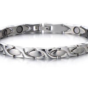 """Femmes 925 Argent Sterling Lucky gris pierre de lune Main Bracelet 6.25-7.5/"""""""
