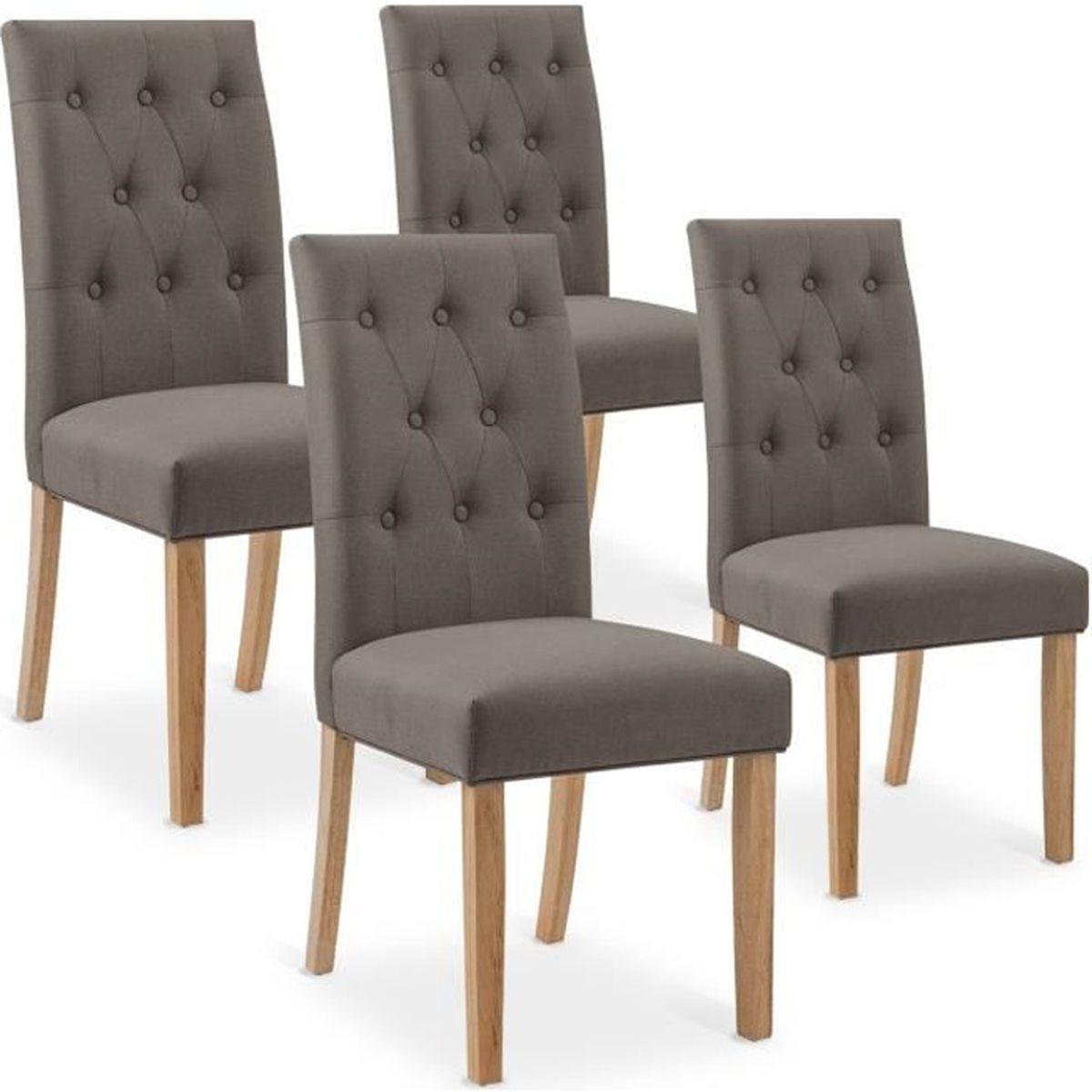 Quel Tissu Pour Chaise chaise tissu taupe