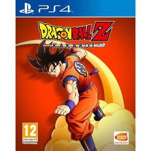 JEU PS4 DRAGON BALL Z : KAKAROT Jeu PS4