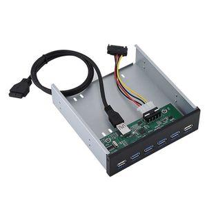 BOITIER PC  Adaptateur De Panneau Avant D'Extension - Ashata -