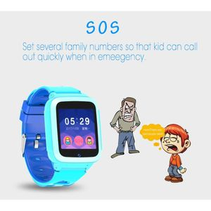 MONTRE CONNECTÉE MONTRE INTELLIGENTE Enfants GPS Smartwatch1.44 pou