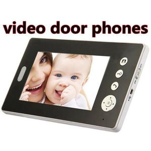 interphone video sans fil ecran 7 pouces achat vente interphone video sans fil ecran 7. Black Bedroom Furniture Sets. Home Design Ideas