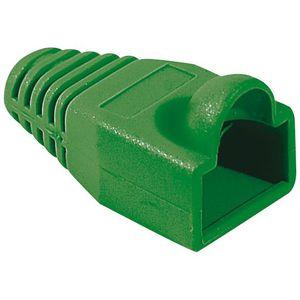CÂBLE RÉSEAU  Manchon RJ45 6mm vert (sachet de 10)