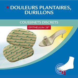 SOIN MAINS ET PIEDS Coussinets plantaires epithélium 26. 36 / 37