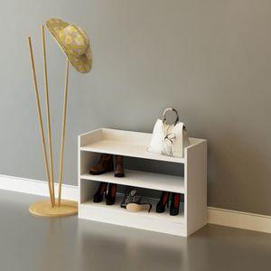 MEUBLE À CHAUSSURES Meuble à chaussures design Adolfo - L. 80 x H. 60