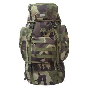 Brandit Tactique Aviator 80L Backpack Urbain Voyage Extérieur Sac À Dos Foncé Ca