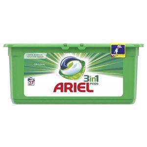 """LESSIVE Ariel Pods """"3 en 1"""" Original 27 Capsules (lot de 2"""