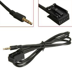 ADAPTATEUR AUDIO-VIDÉO  2 x Adaptateur Aux Câble Audio Convertisseur jack