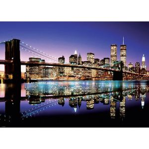 Poster mural new york achat vente poster mural new york pas cher cdiscount for Poster mural plage pas cher