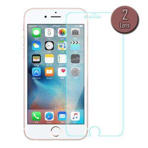 FILM PROTECT. TÉLÉPHONE Lot de 2 films de protection pour iPhone 7 (4,7