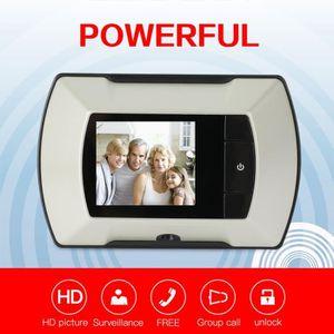 SONNETTE - CARILLON Digital Sonnette Moniteur sans fil LCD visuel de p