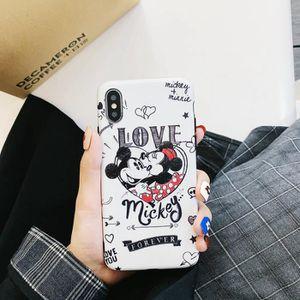 COQUE - BUMPER Coque iPhone 6 Plus-6S Plus,Mickey Minnie 2 Coque