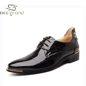 DERBY HEE GRAND Homme Chaussure de Soulier Cuir Pu Lisse