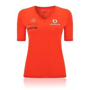 T-SHIRT T-Shirt V08 Formule F1 1 McLaren Mercedes F1 dames