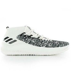 Chaussures de Basketball adidas Dame 4 Summer pack Blanc