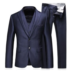 COSTUME - TAILLEUR Costume Homme de Marque Costume d'affaires Couleur