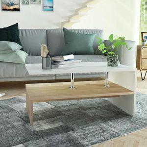 TABLE BASSE Table basse en aggloméré  Table scandinave Table b