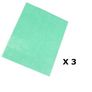 SERPILLIÈRE Lot de 3 - Serpillière anti-bactéries - 50 x 40 cm