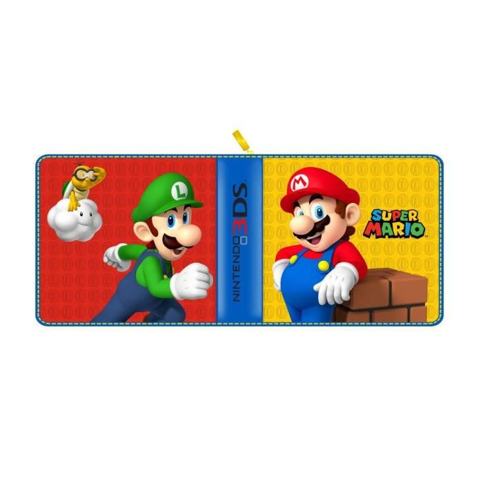 Housse pdp mario 3ds 3ds xl new 3ds new 3ds xl achat for Housse 3ds xl pokemon