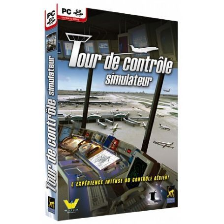 tour de controle simulateur logiciel pc cd rom achat vente jeu pc tour de controle. Black Bedroom Furniture Sets. Home Design Ideas
