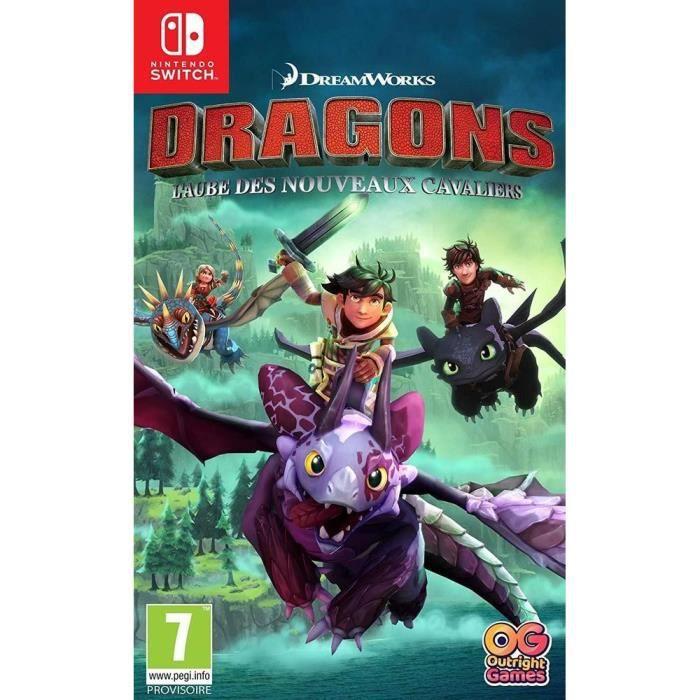 Dragons : L'aube des nouveaux Cavaliers Jeux Switch