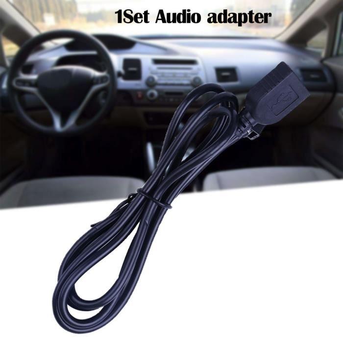 USB Adaptateur AUX Câble audio Média Musique Interface pour Honda Geshitu - Civic @Yinmgmhj202