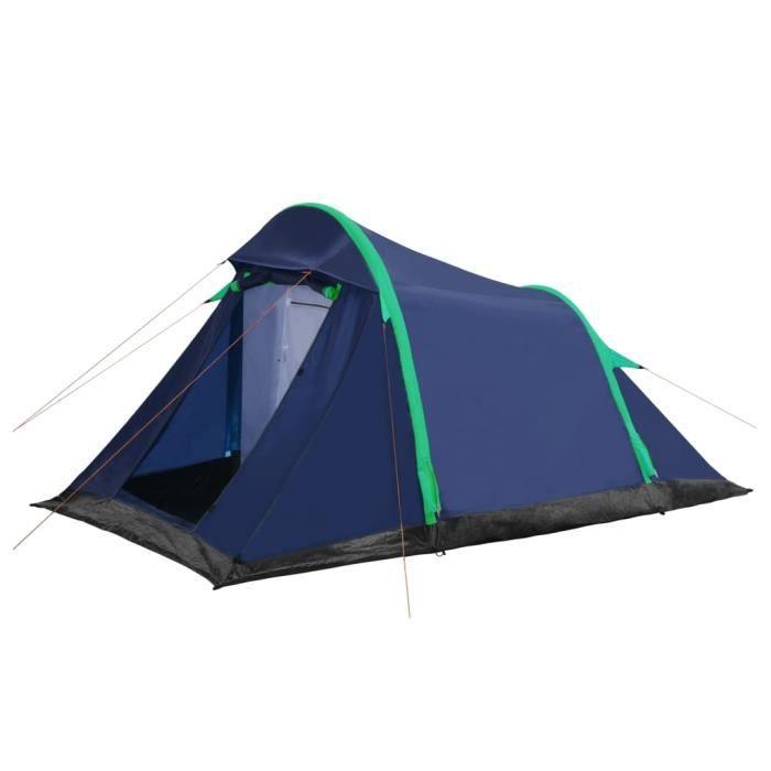 LAY Tente avec poutres gonflables 320x170x150-110 cm Bleu et vert