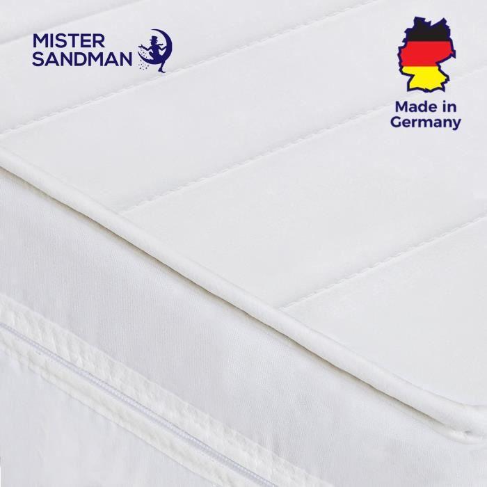 Matelas 80x190 pour tout type de lit / sommier - Matelas orthopédique confort Epaisseur 15 cm - Matelas 80x190