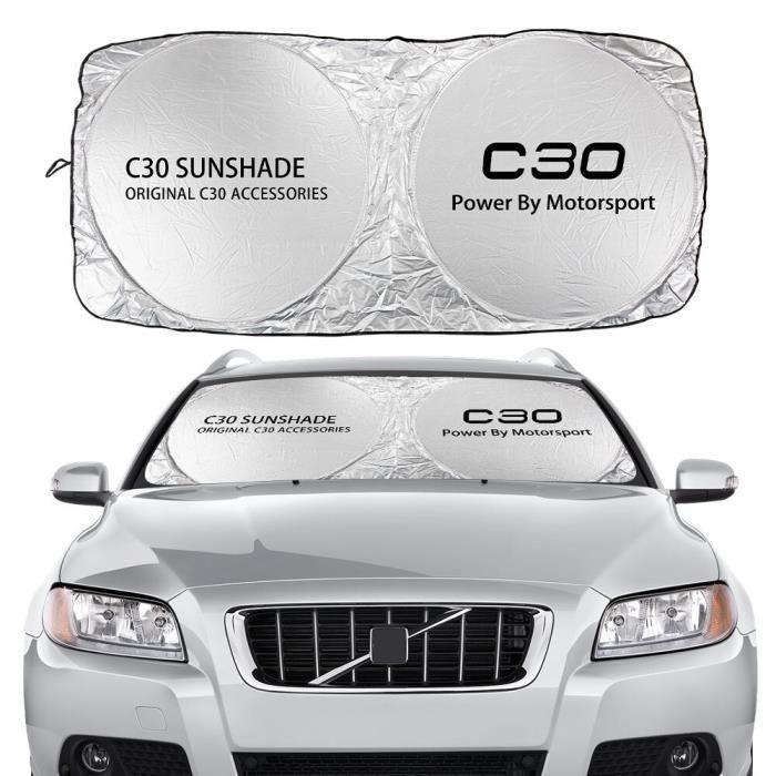 Voiture Pare-Brise Pare-Soleil Couvre pour Volvo AWD C30 C70 S60 S80 S90 T6 V40 V50 V60 V70 V90 XC40 XC60 XC For C30