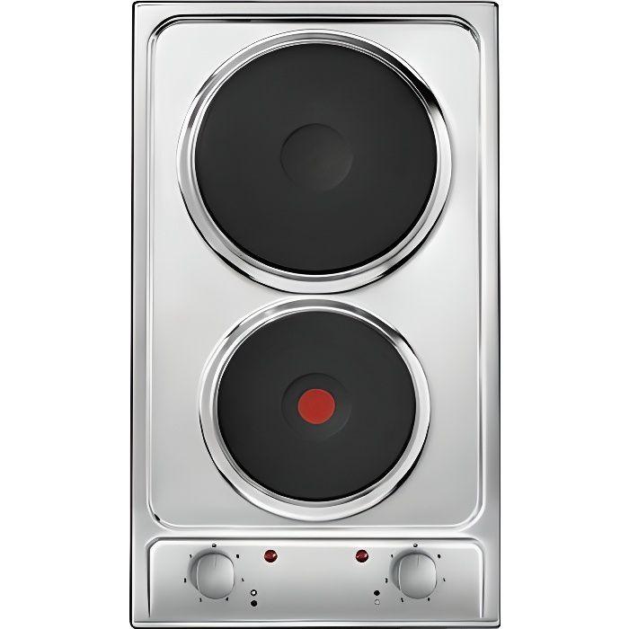 CANDY Domino Electrique CDE32-1X Inox