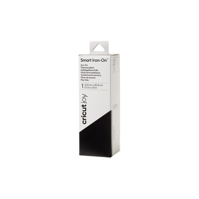 Cricut - Rouleau de thermocollant Smart Iron On - Noir