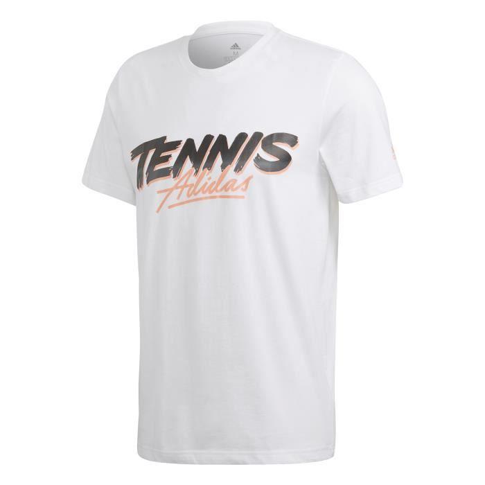 T-shirt adidas Tennis Script