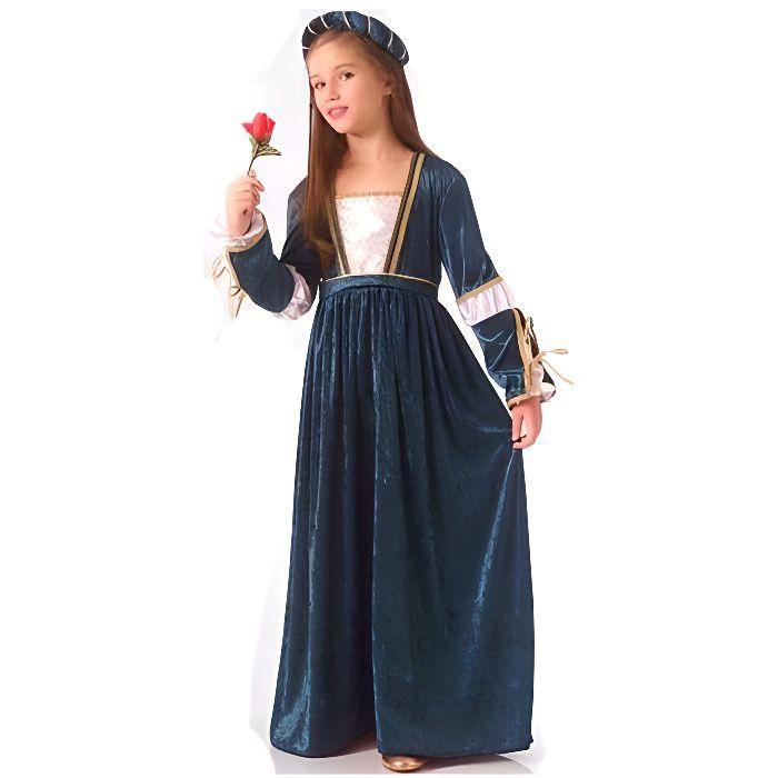 RUBIE'S. Déguisement Reine Médiévale Juliette fille. 4 ans. Enfant