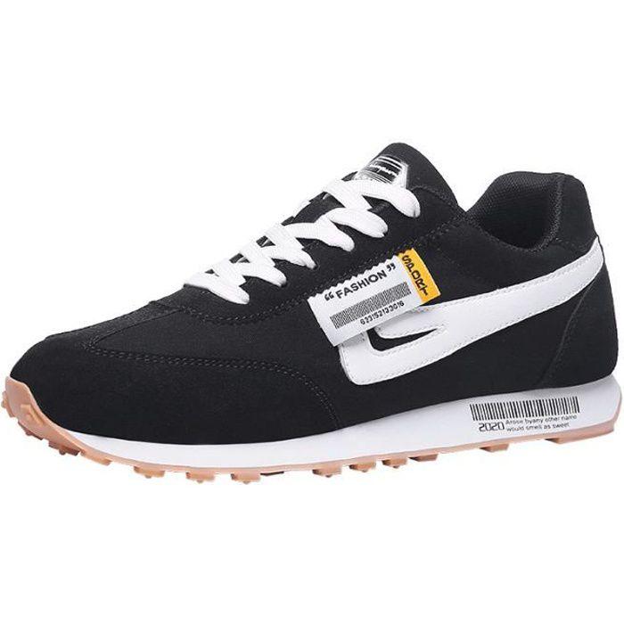 Chaussures de course pour hommes - Noir
