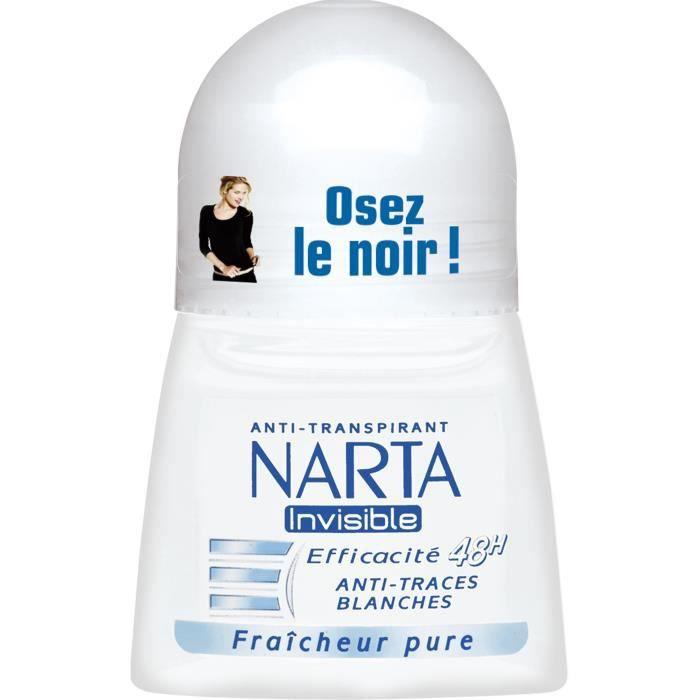 Bille antistranspirant invisible 50ml Narta