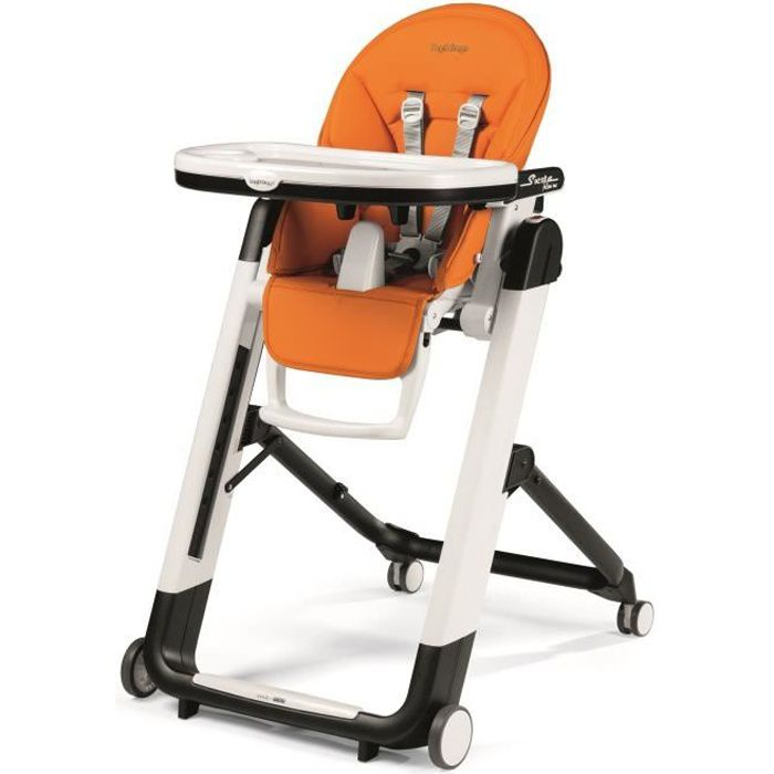 PEG PEREGO Chaise Haute Siesta - Coloris Orange