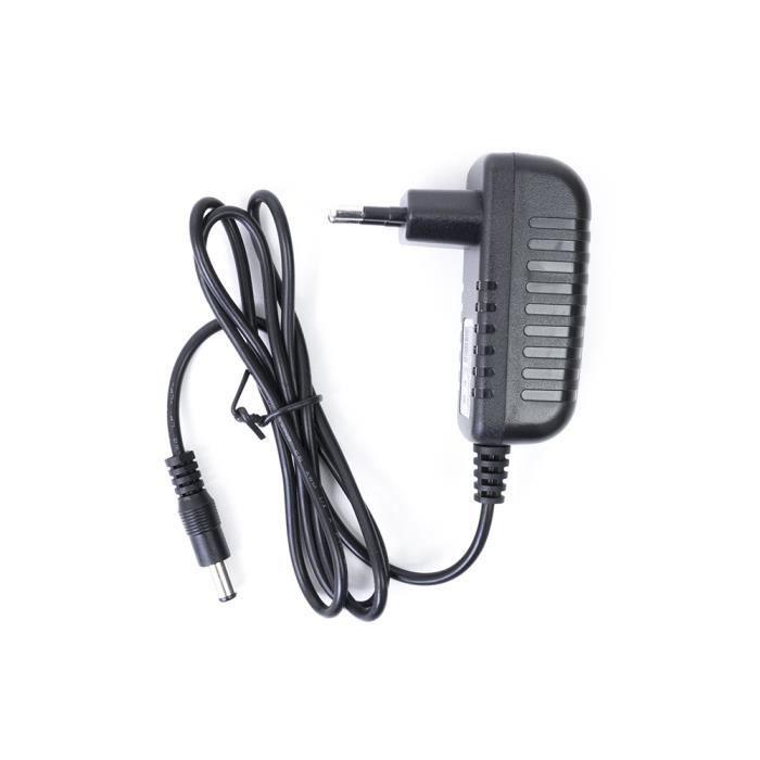 PNI 230V - 12V 1A Adaptateur Secteur pour caméras de vidéosurveillance