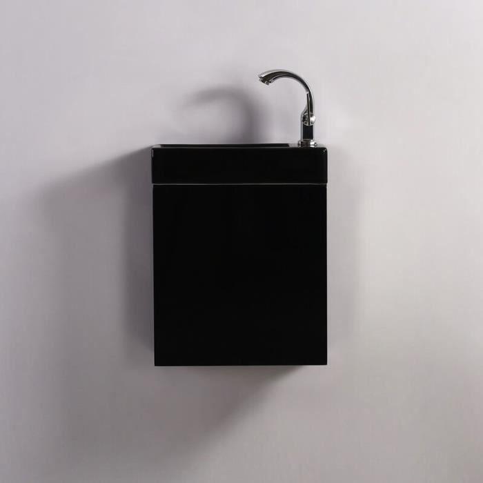 Pack Minimalist Noir droite + Meuble Lave main Noir Dark Contenu du pack - 1620-defaultCombination.