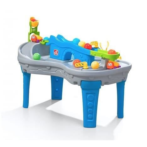 STEP 2 Table a balles Ball Buddies circuit à billes boules camion jouet plastique enfant 2 ans