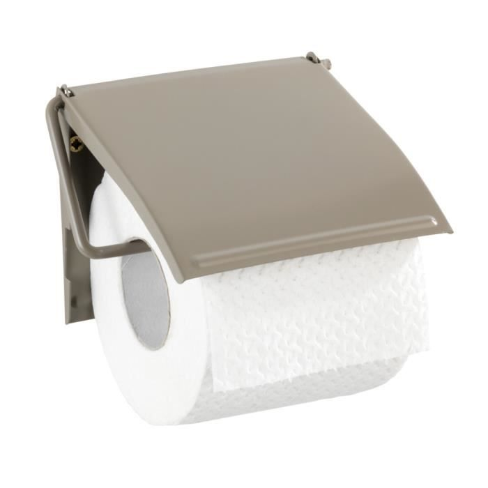 Dérouleur papier WC Cover, taupe