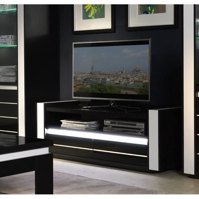ensemble salon lina meuble tv 1 vitrines led achat vente meuble tv ensemble salon lina. Black Bedroom Furniture Sets. Home Design Ideas