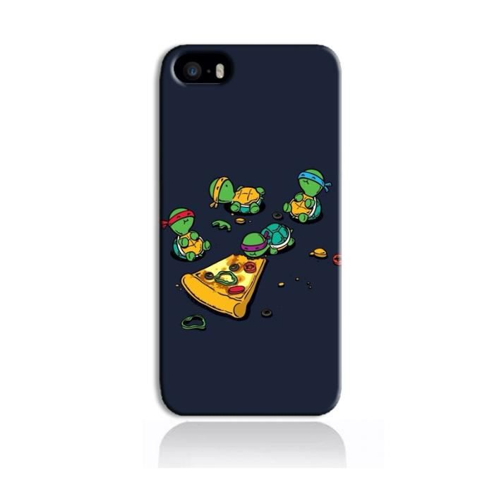 coque iphone 5 5s tortues pizza achat coque bumper pas cher avis et meilleur prix. Black Bedroom Furniture Sets. Home Design Ideas