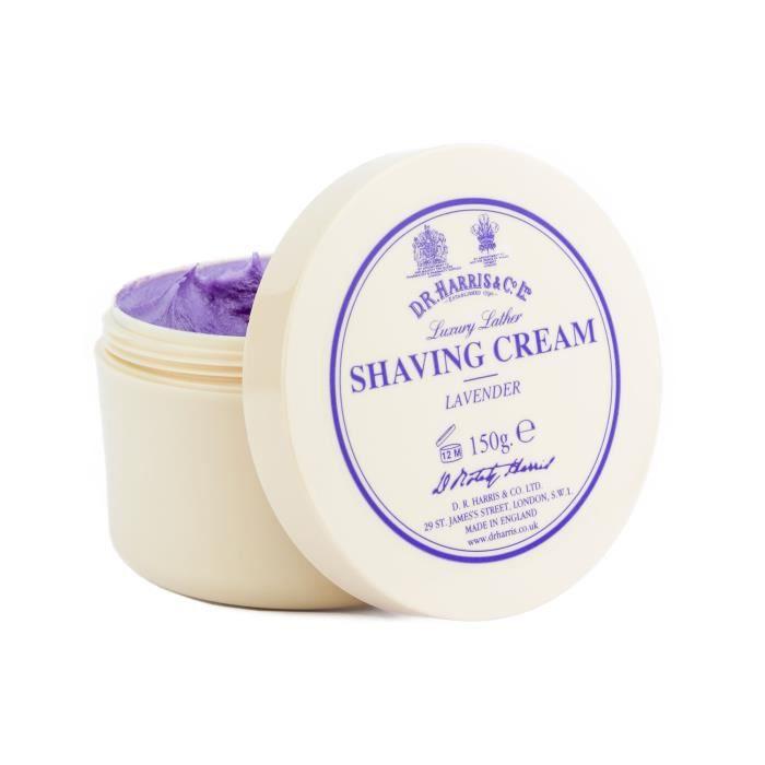 SOIN AVANT RASAGE DR Harris Lavender Luxury Lather Shaving Cream Bow