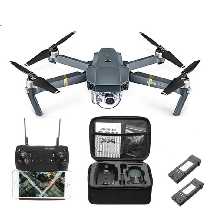 DRONE 3 X RC Drone FPV + Boîte + 2 Batteries RTF Quadcop