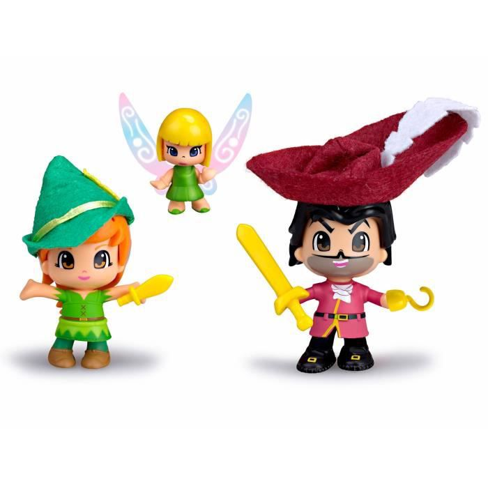 FIGURINE - PERSONNAGE PINYPON Coffret Peter Pan