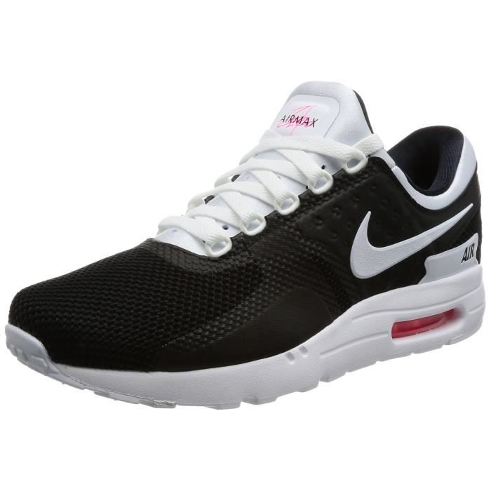 bf51ae10ef77 Nike Air Max Zéro Essential Baskets bas-top pour hommes EEMFP Noir ...