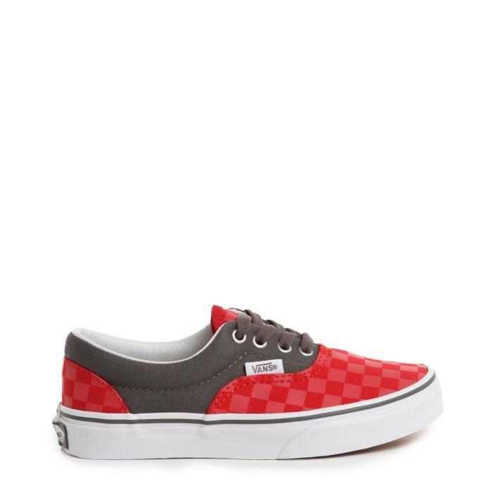 vans checkerboard rouge
